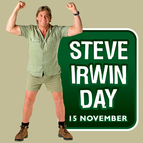 Steve Irwin Day Social Profile