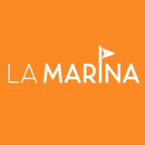 La Marina Waterfront official logo.