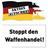 Waffenhandel Stopp!