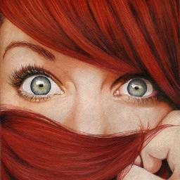 ducha escoltas cabello rojo