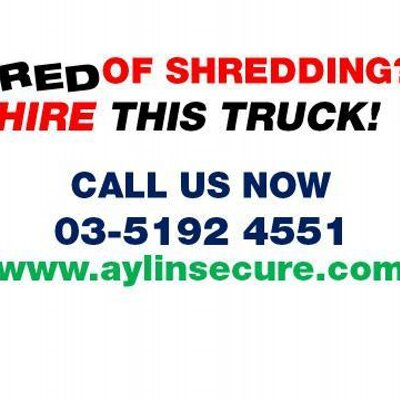 Aylin Secure Shred (@AylinSecure) | Twitter