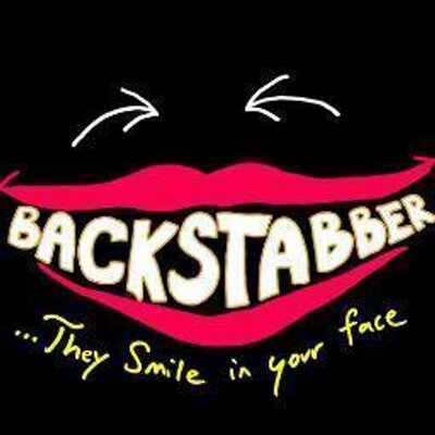 Backstabber Quotes on Twitter: \