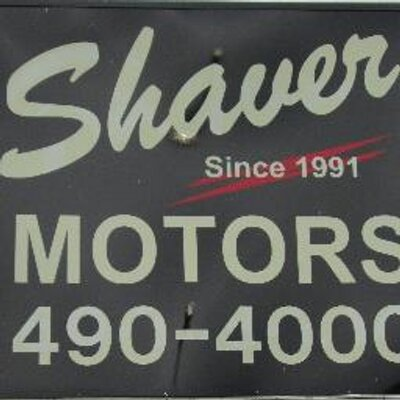 Shaver motors shavermotors twitter for Shaver motors fort wayne