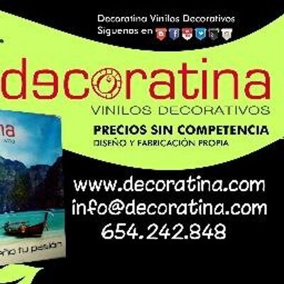 Decoratina Vinilos At Decoratina Twitter
