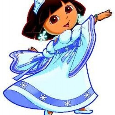 Dora snow princess snowcostumes twitter - Princesse dora ...