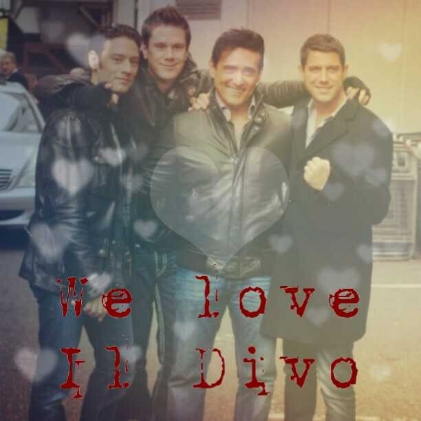 We love il divo weloveildivo twitter - Il divo man you love ...