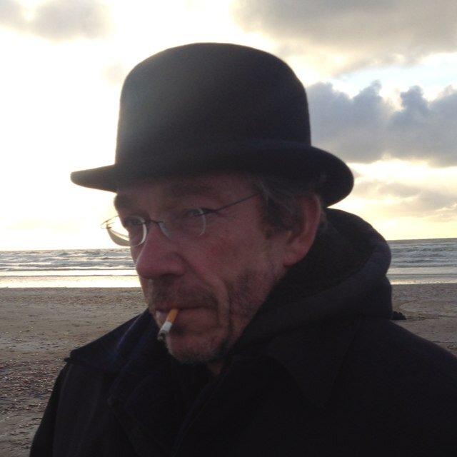 Willem Middelkoop in gesprek met NRC redacteur, Maarten Schinkel