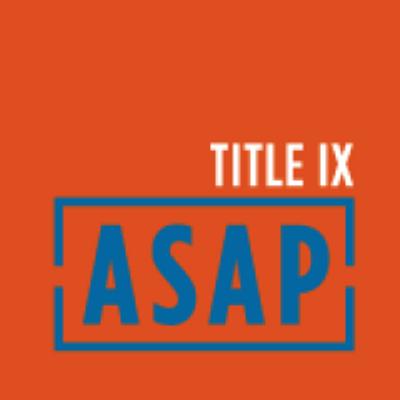 TITLE IX ASAP (@TitleIXASAP) Twitter profile photo