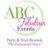 ABC Fabulous Events