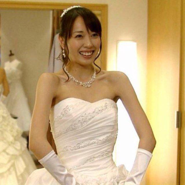 戸田恵梨香 ウェディングドレス