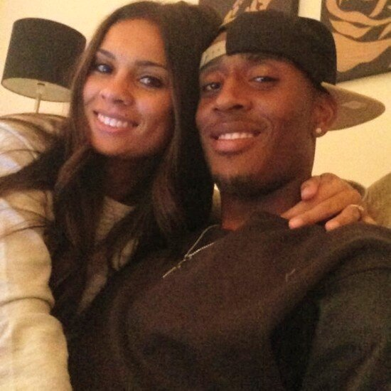Leroy Fer with sexy, Girlfriend Xenia Lodia Maria