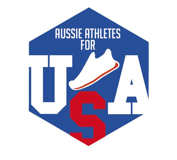 AussieAthletesforUSA