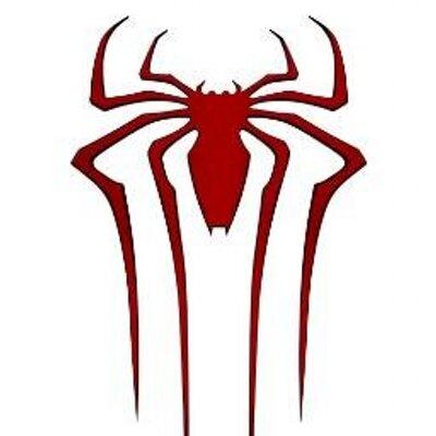 ロゴマークがかっこいいスパイダーマンの画像