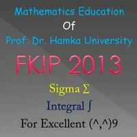 Math UHAMKA 2013
