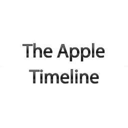 Apple Timeline Timelineapple Twitter