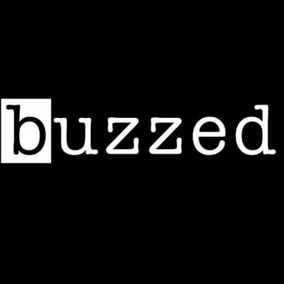 black and white Buzzed logo