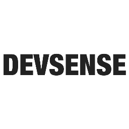 @DevsenseCorp