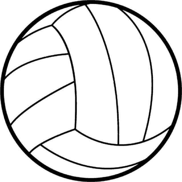 Line Art Emojis : Volleyball emoji volleyballemoji twitter