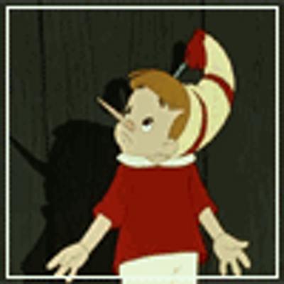 Буратино картинка анимация