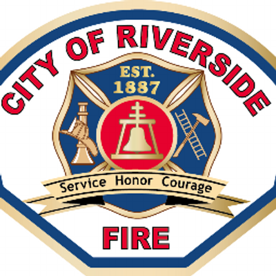 City Of Riverside Fire Department Logo