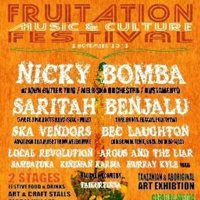 Fruitation Festival Fruitation Twitter