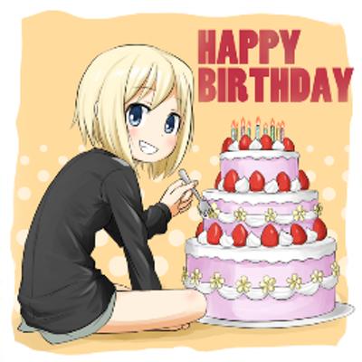 birthday anime Anime Birthday Bot (@Tanjoubi_Bot_en)   Twitter birthday anime