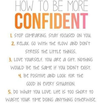 Confidence Quotes ConfidenceQ Twitter Mesmerizing Quotes About Being Confident