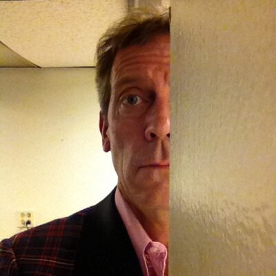 Twitter profile picture for Hugh Laurie