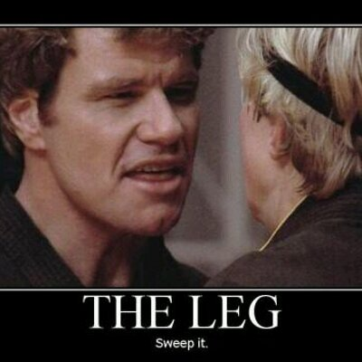 Image result for sweep the leg