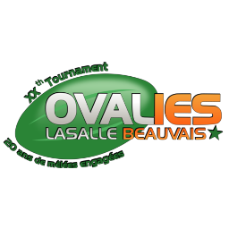 Ovalies Lasalle Beauvais Tournoi Rugby Etudiants logo