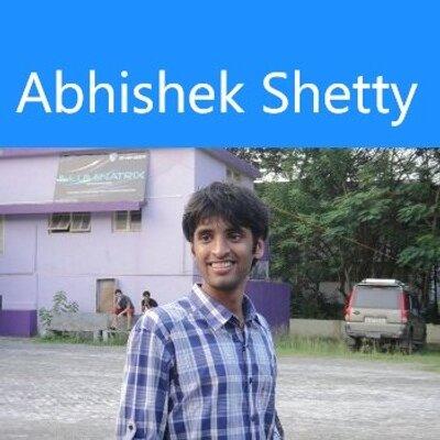 Abhishek Shetty on Muck Rack