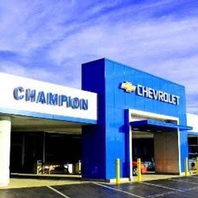 Champion Chevrolet Champchevrocks Twitter