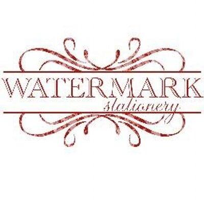 watermark stationery