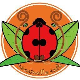 コッチネッラ カフェ 移動カフェ 10月10日 は てんとう虫の日 そんなてんとう虫の日の火曜日は東陽町ランチ で てんとう虫カフェことコッチネッラカフェは生パスタでランチ販売ですぞ ぞ この イラストの中にてんとう虫がいます 探せるかな