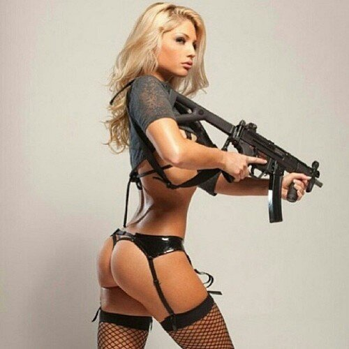 Pictures Nude Females With Guns 46