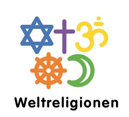 Fünf Weltreligionen