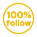 100%相互フォロー Yellow! (@100p_yellow) Twitter