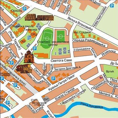 lazarevac mapa Lazarevac on Twitter: