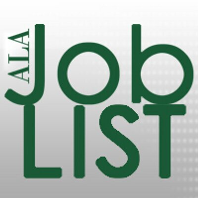 ALA JobLIST Library & LIS Jobs