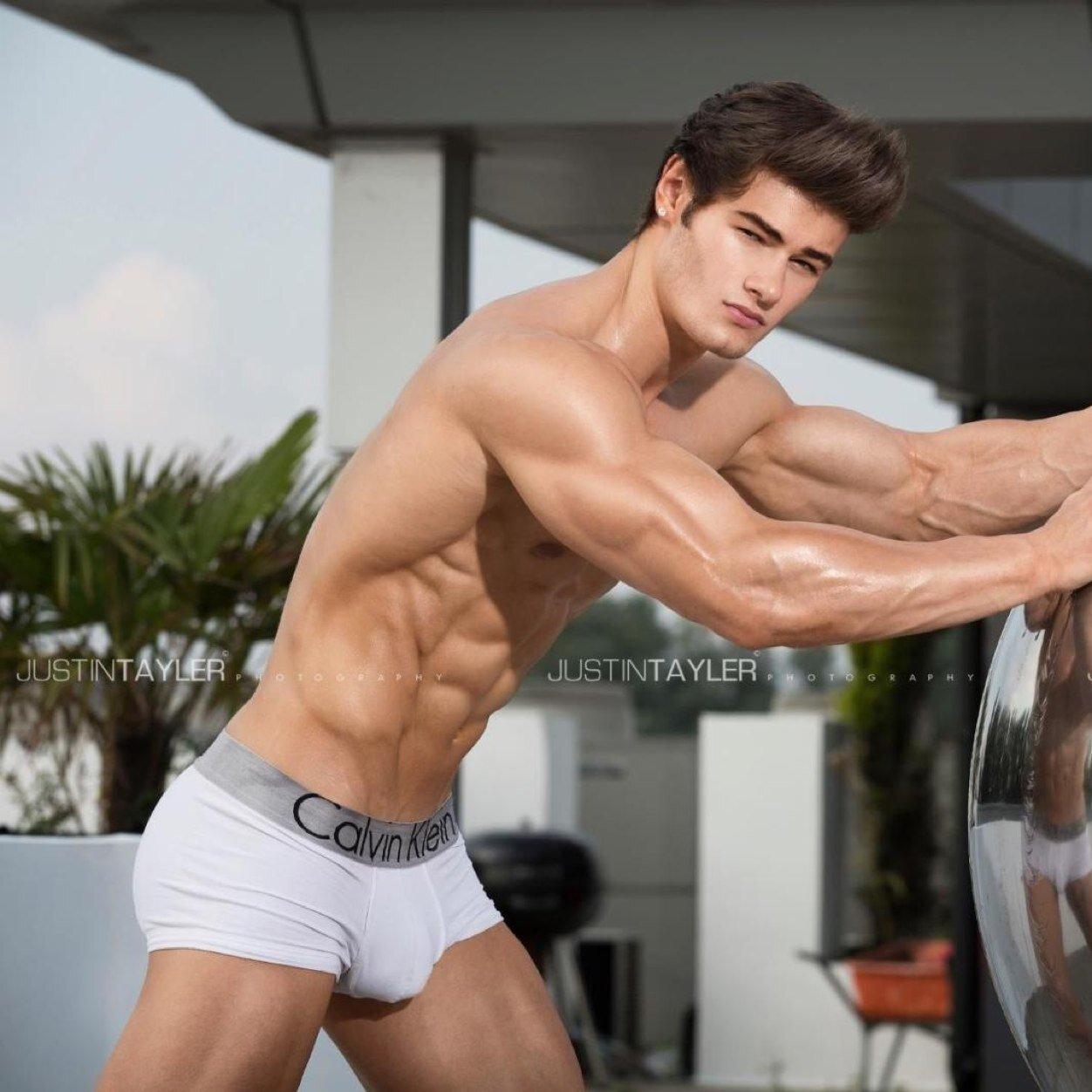 Naked guys david likes his men 10
