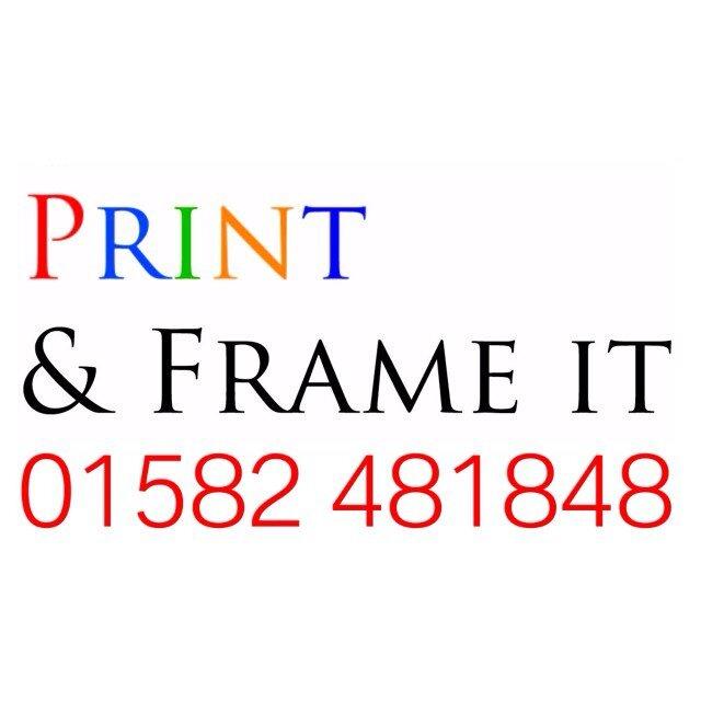 print frame it