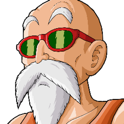 Image result for master roshi png