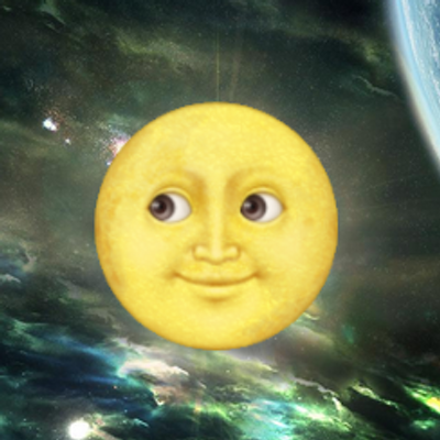 yellow moon emoji - photo #7