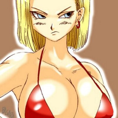 Guy, goku and android 18 naked sex blast