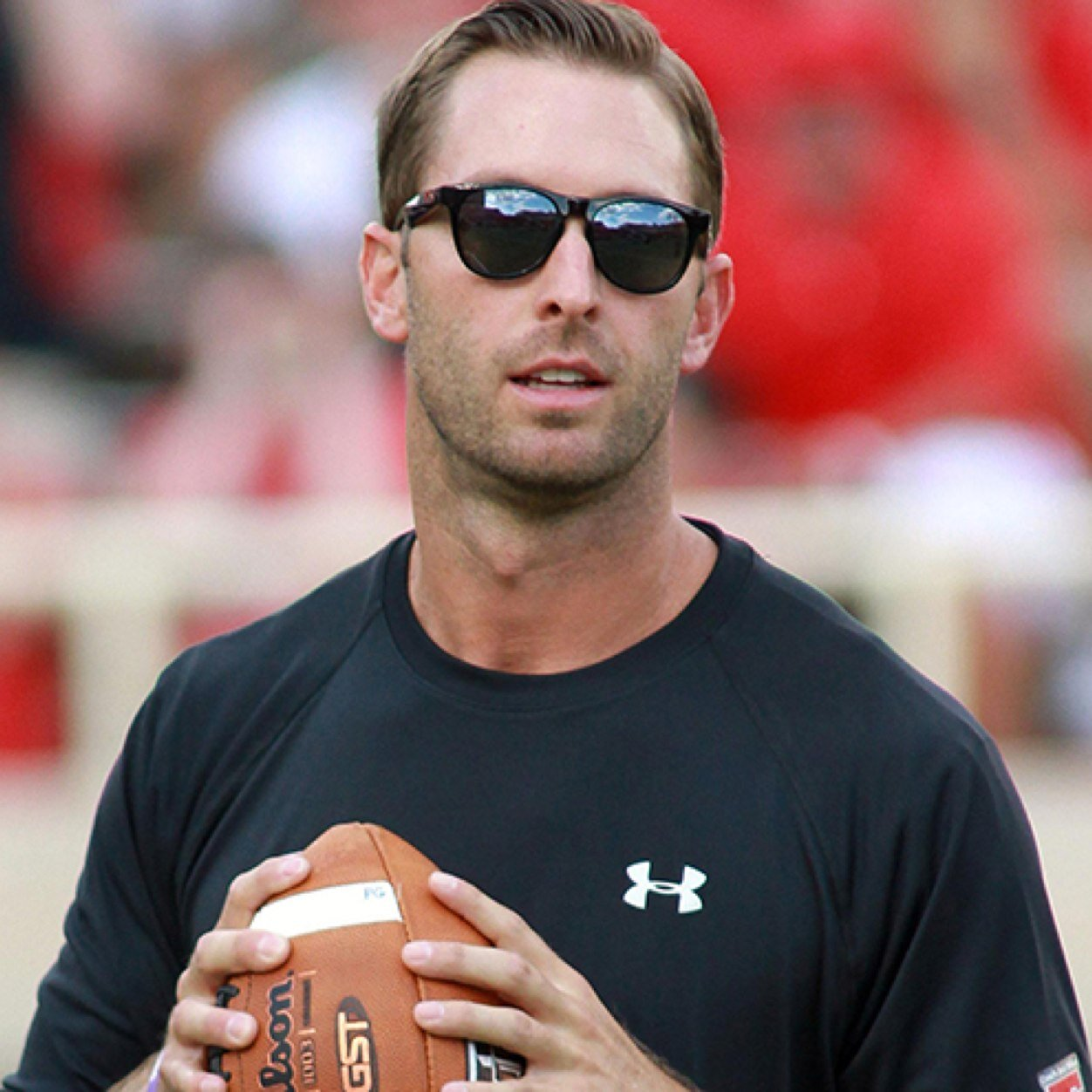Kliff Timothy Kingsbury born August 9 1979 is an American football coach and quarterback During his playing career Kingsbury held and currently holds many NCAA