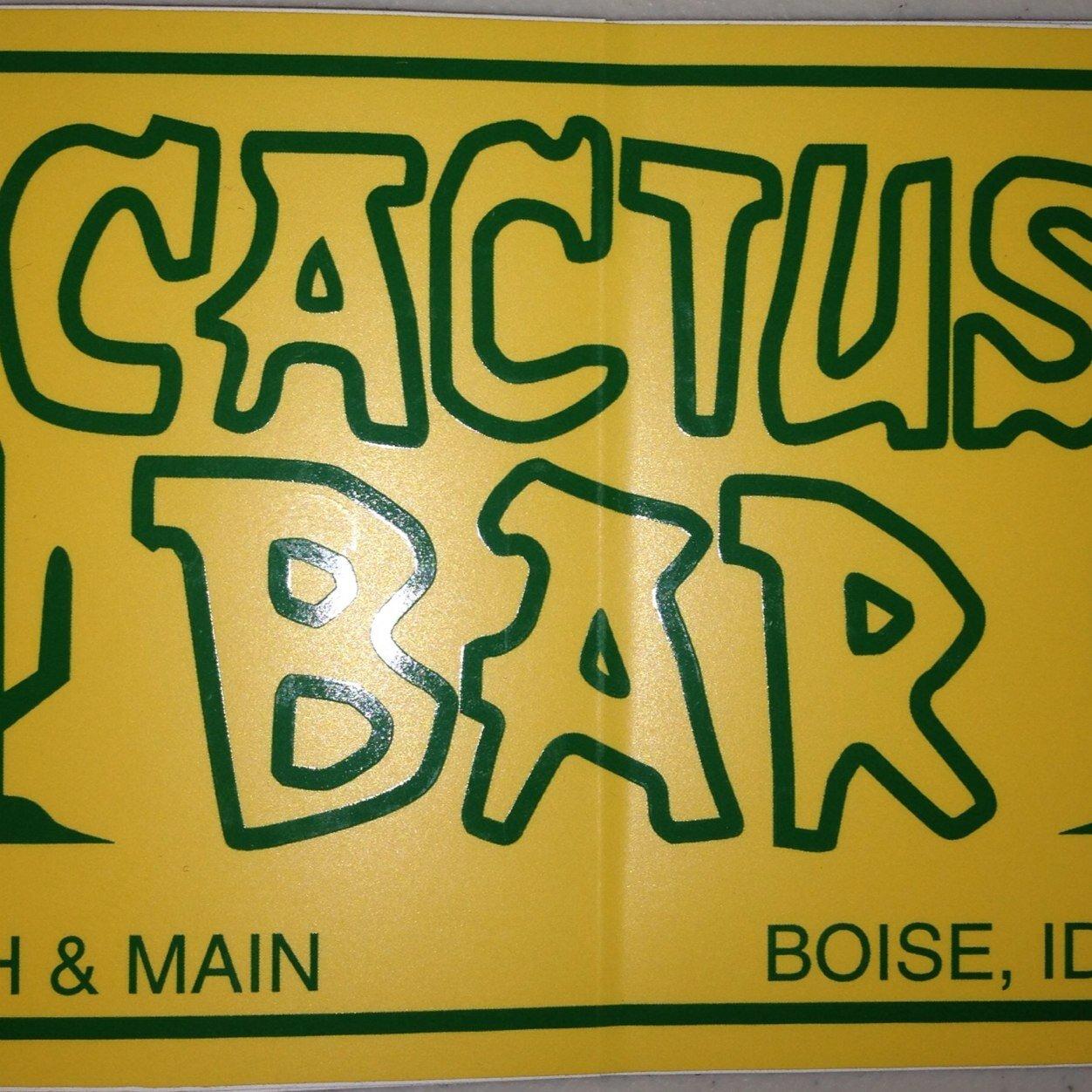 cactus bar cactusbarboise twitter. Black Bedroom Furniture Sets. Home Design Ideas