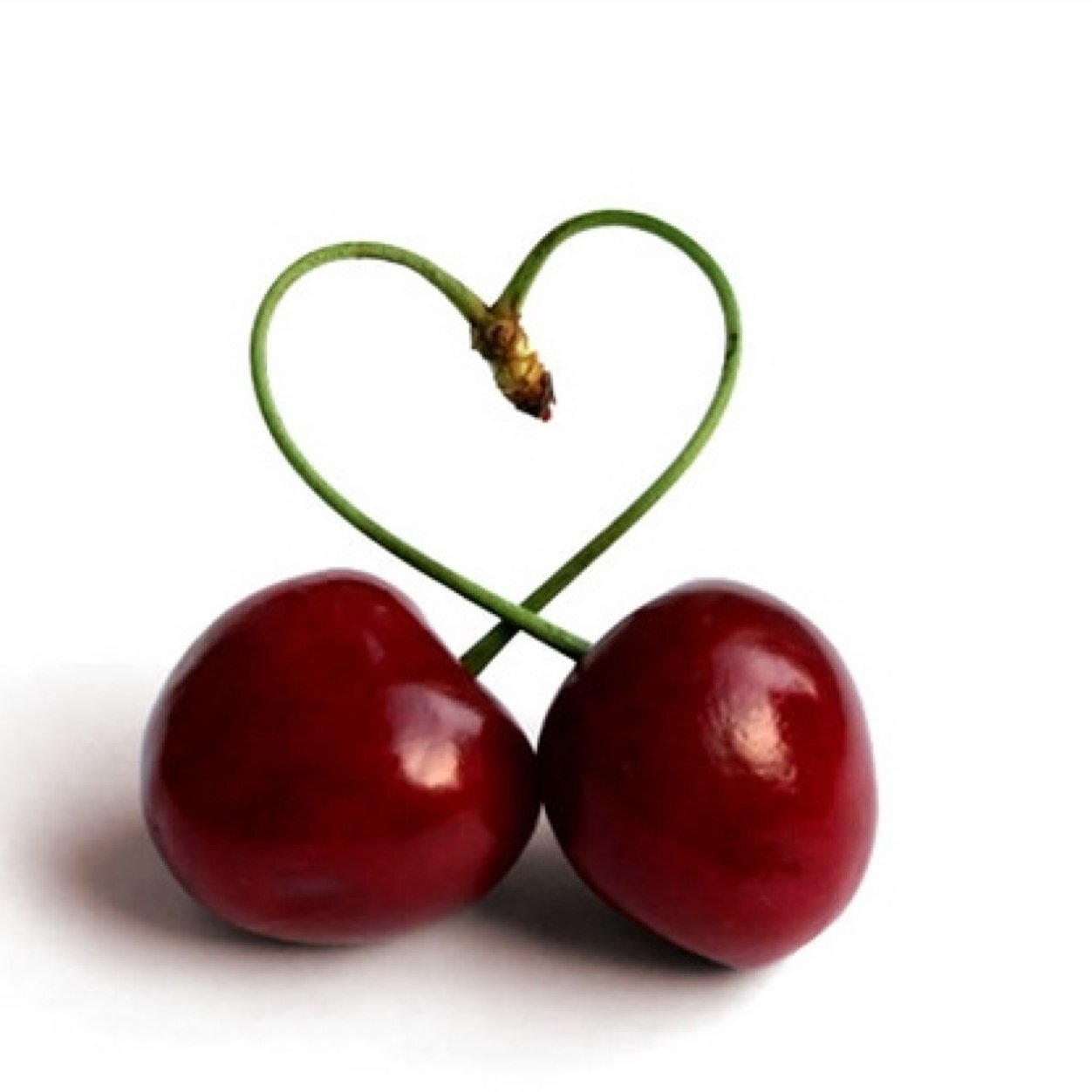 Image result for 2 cherries one stem