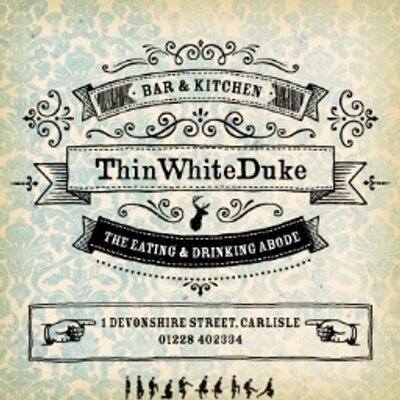 Thin White Duke Bar And Kitchen Carlisle