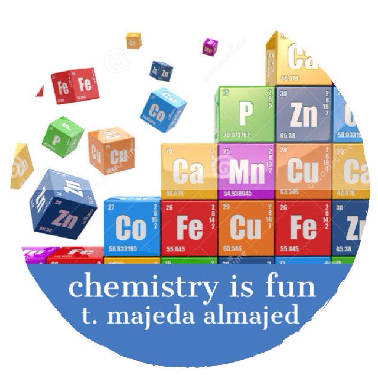كيمياء و أكثر ❤️ chemistry will be fun with me♥️ للاعلانات ( أسعار رمزية ) التواصل واتس ٠٥٤٦٩٧٧٤٦٠