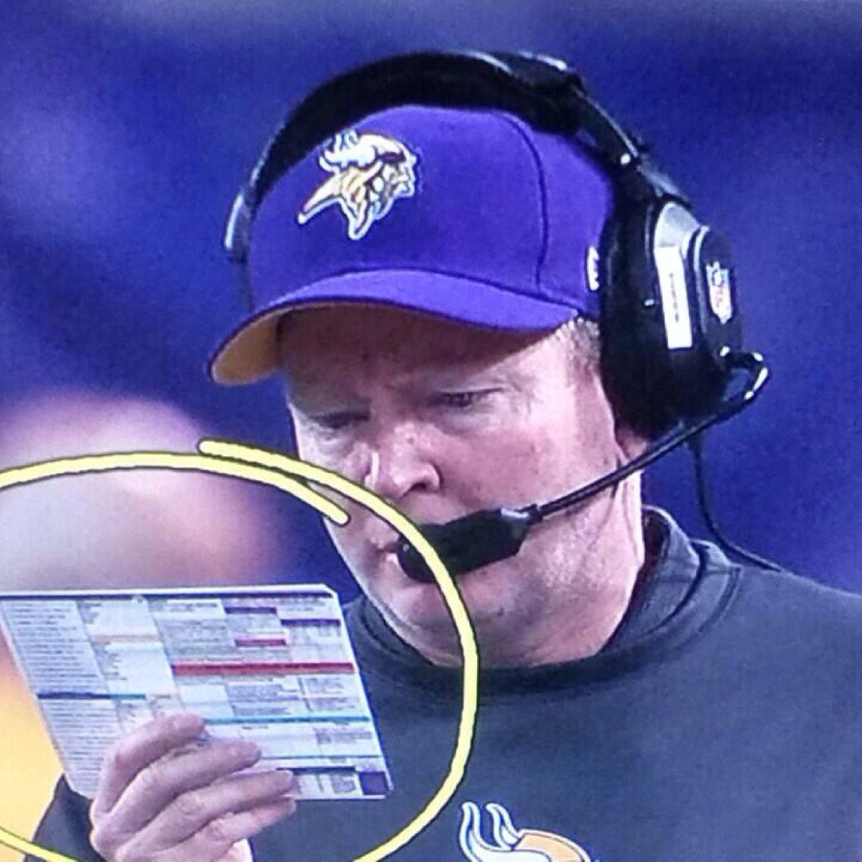 """""""Oh boy, then do I have a play sheet for you!"""" - Bill Musgrave"""